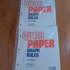 Graph paper  sheets 3 packs 18 sheets in pack